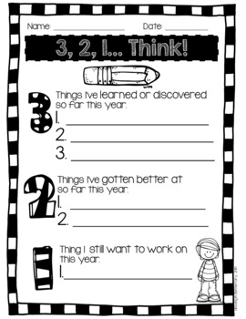 3, 2, 1... Think! A Learning Reflection Tool