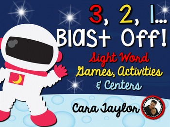3, 2, 1...Blast Off!  Space Sight Word Activities and Centers