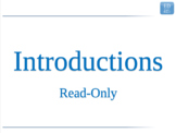 3.2 - ESL Business English Lesson - Introductions - Read-O