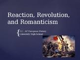 3.2 Reaction, Revolution, and Romanticism