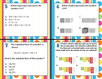 3.2A Compose & Decompose Numbers task cards