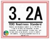 3.2A TEKS: Compose and Decompose Math Task Cards