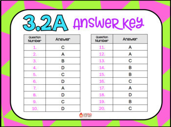 3.2A (DECK 2): Forms of Numbers STAAR Test Prep Task Cards! (GRADE 3)