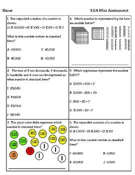 3.2A Mini Assessment