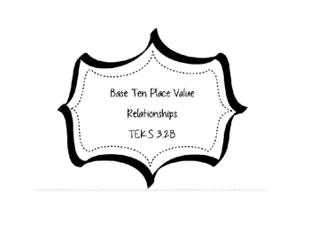 3.2B Place Value Relationships SMART Board Lesson