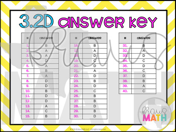 3.2D: Compare & Order Whole Numbers STAAR Test Prep Task Cards (GRADE 3)