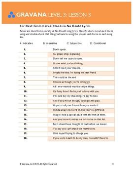 3.3- Grammatical Moods