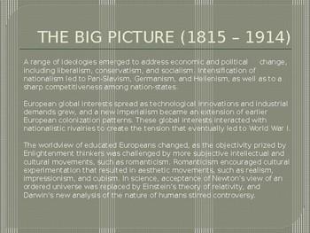 3.3 The Industrial Revolution - Presentation