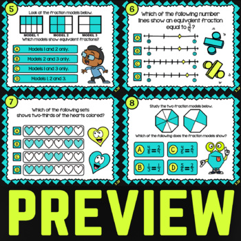 3.3F Equivalent Fractions ★ 3rd Grade Math TEK 3.3F ★ STAAR Math Word Problems