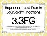 3.3FG Represent and Explain Equivalent Fractions