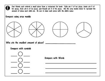3.3H - Comparing Fractions (Same Numerator or Same Denominator)