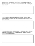 3 &4 Digit multi-step story problems.