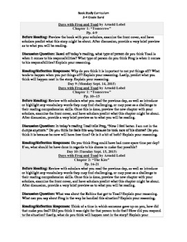 3-4 Grade Band Reading Curriculum/Program (09.01.2015-04.22.2016)