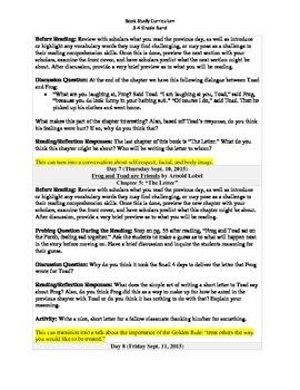 3-4 Grade Band Reading Curriculum/Program (September)