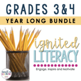 Ignited Literacy - Gr. 3-4 - Full Year {ONTARIO CURRICULUM}