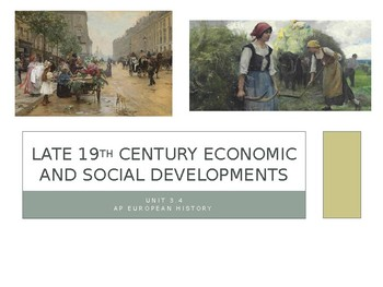 3.4 Late 19th Century Developments - Presentation