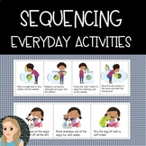 3-4 Part Sequencing Everyday Activities: Sequence & Write