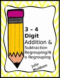 3 & 4 digit Addition and Subtraction Pack