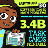 3.4B Math ★ ROUNDING & ESTIMATING ★ Math TEK 3.4B ★ 3rd Grade STAAR Task Cards