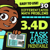 Math TEK 3.4D ★ Multiplication with Arrays ★ 3rd Grade Task Cards