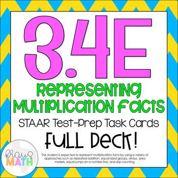 3.4E: Multiplication Representations STAAR Test-Prep Task