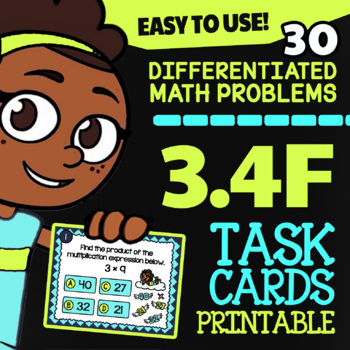 3.4F Math ★ MULTIPLICATION & DIVISION ★ Math TEK 3.4F ★ 3rd Grade STAAR Review