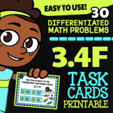 Math TEK 3.4F ★ Multiplication & Division ★ 3rd Grade Task Cards