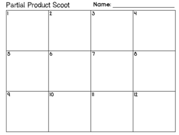 3.4G Partial Product Match and Scoot
