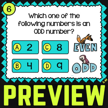 3.4I Odd and Even Numbers ★ 3rd Grade Math TEK 3.4I ★ STAAR Math Word Problems