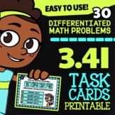 3.4I Math ★ ODD & EVEN Numbers ★ Math TEK 3.4I ★ 3rd Grade STAAR Math Task Cards