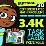 Math TEK 3.4K ★ Multiplication & Division With Models ★ 3rd Grade STAAR Math