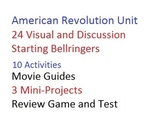 American Revolution 3-5 Week Unit: No Prep