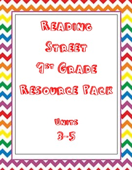 3-5 Bundle Pack Reading Street 1st Grade
