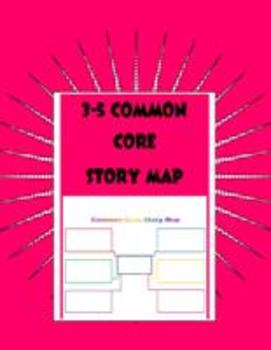 3-5 Common Core Story Map