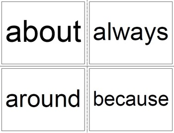 3-5 Commonly Misspelled Words Word Wall