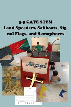 3-5 GATE STEM Full Unit - Land Speeders, Sailboats, Signal Flags, and Semaphores