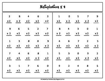 3-5 Math Drill Fluency