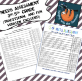 3-5 Needs Assessment