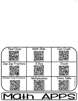 3-5 Parent Flipbook - QR Codes to 45 Free iPad Apps!