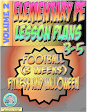 3-5 Physical Education Lesson Plan Volume 2