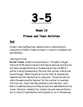 3-5 Physical Education Lesson Plan Volume 3