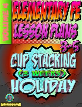 3-5 Physical Education Lesson Plan Volume 4
