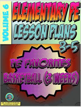 3-5 Physical Education Lesson Plan Volume 6