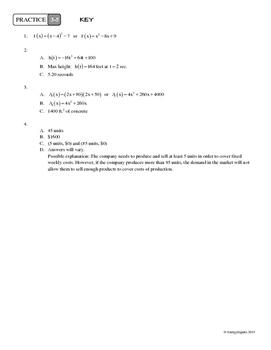 3-5 Quadratic Applications