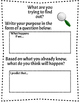 3-5 Scientific Method Template to use with Every Lab Activity!