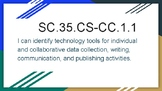 3-5 Technology Standards I can statements Florida