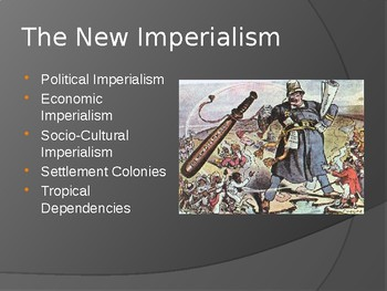 3.5 The New Imperialism