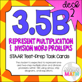 3.5B (DECK 2): Representing Multiplication & Division STAA