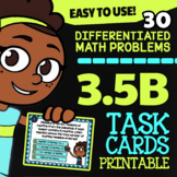 Math TEK 3.5B ★ Multi-Step Multiplication & Division ★ 3rd Grade Task Cards