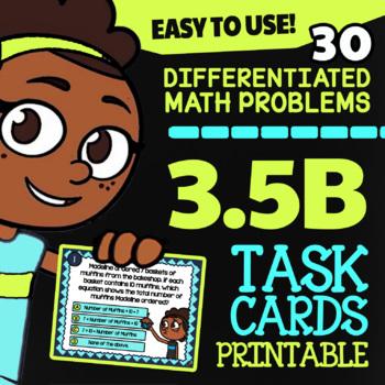 Math TEK 3.5B ★ Multi-Step Multiplication & Division ★ 3rd Grade STAAR Math